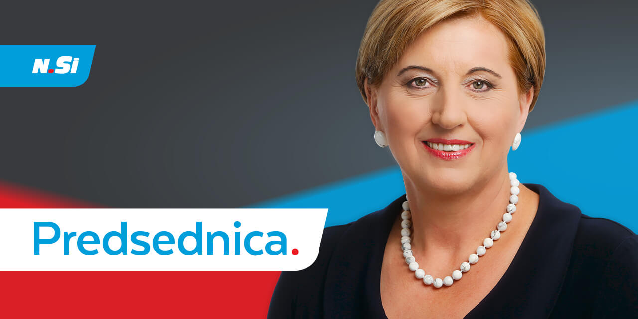 Ljudmila Novak – Predsednica.