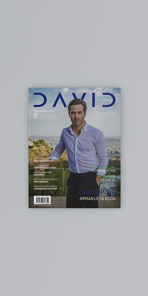 David – revija za moške s stilom